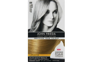 John Frieda Sheer Blonde Precision Foam Colour 8N Medium Natural Blonde Permanent Colour