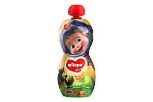 Пюре фруктове для дітей від 6міс Яблуко і груша Milupa д/п 100г