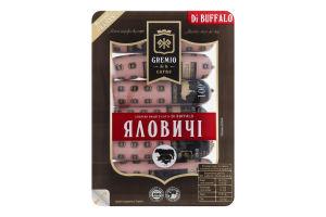 Сосиски Di Buffalo Яловичі Gremio de la carne лоток 0.26кг