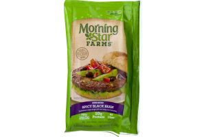 Morning Star Farms Burgers Spicy Black Bean - 4 CT