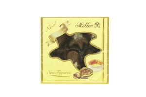 Конфеты шоколадные с начинкой крем-брюле Морские фигурки Melbon к/у 60г