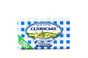 Масло 73% Крестьянское 100г
