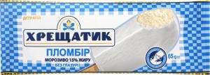 Мороженое пломбир без глазури Хрещатик м/у 65г
