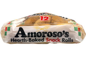 Amoroso's Hearth-Baked Snack Rolls - 12 CT