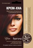 Крем-хна Фитокосметик Бургунд с репейным маслом ^