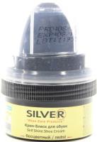 Крем-блеск для обуви бесцветный Silver 50мл