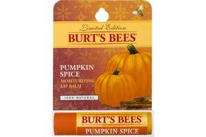 Burt's Bees Lip Balm Pumpkin Spice