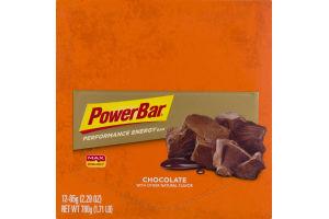 PowerBar Performance Energy Bar Chocolate - 12 CT
