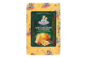 Сыр Охотничий 50% Добряна вес 1.4кг Мена