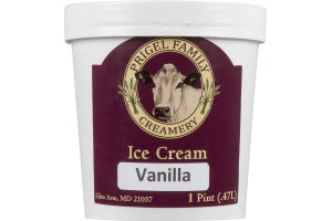 Prigel Family Creamery Ice Cream Vanilla