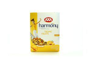 Хлопья Harmony мультизерновые c тропическими фруктами Аха 250г