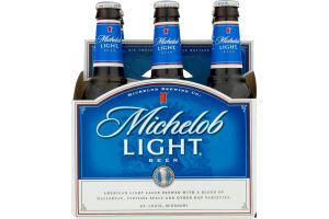 Michelob Light Beer - 6 PK