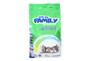 For my Family Порошок 6 кг универсал (пакет)