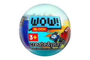 Конструктор для дітей від 3років №PL-920-16 Wow Block Iblock 1шт