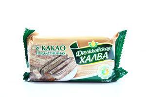 Халва Дружковка соняшникова з какао 200г х20