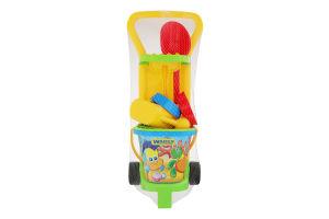 Набор игрушек для детей от 12мес №10770 Малый садовник Wader 1шт