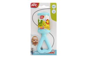 Брязкальце для дітей від 3-х місяців ABC Simba 1шт