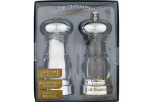 Olde Thompson Del Sol Pepper Mill & Salt Shaker Set - 2 CT