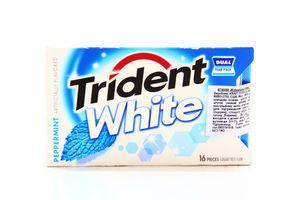 Жувальна гумка Trident White Peppermint 16шт. 48г