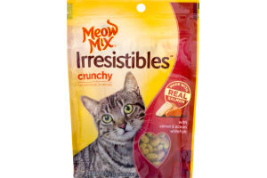 Meow Mix Irresistibles Crunchy Salmon & Ocean Whitefish