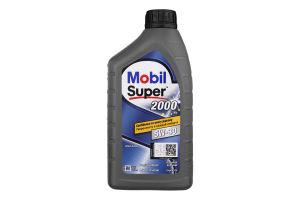 Олива моторна напівсинтетична 5W-30 2000 Mobil Super 1л