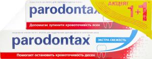 PARODONTAX зубна паста Екстра свіжість 75мл+з/п Класік 50мл
