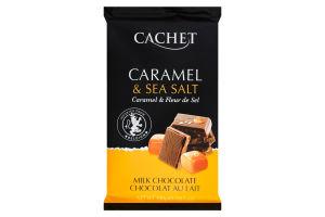 Шоколад Cachet 300г карамель соль