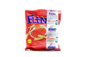 Сухарики со вкусом красной икры Flint м/у 80г
