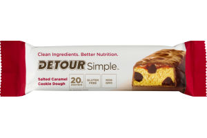 Detour Simple Whey Protein Bar Salted Caramel Cookie Dough