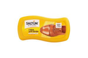 Губка для обуви из гладкой кожи бесцветная Salton 1шт
