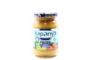 Пюре для детей от 4мес из яблок и абрикос Карапуз с/б 200г
