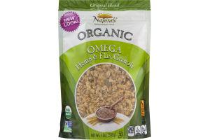 New England Naturals Organic Omega Hemp & Flax Granola