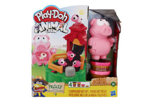 Набір для творчості для дітей від 3років з пластиліном №32 Pigsley Animal crew Play-Doh Hasbro 1шт
