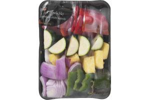 Ahold Fresh Vegetables Hawaiian Kabob