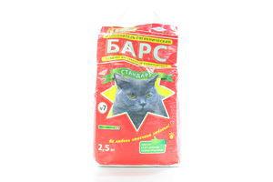 Наповнювач для котів Барс №7 2,5кг х8