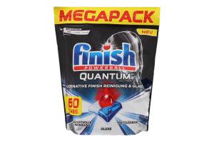 Засіб для миття посуду Quantum Ultimate Powerball Finish 750г