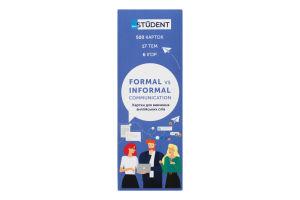 Карточки для изучения английских слов Formal vs Informal English Student 1шт