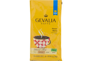 Gevalia Kaffe House Blend Ground Coffee Medium Decaf