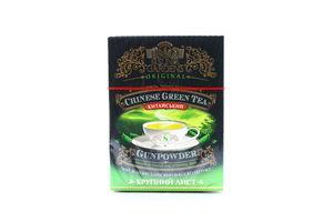 Чай зеленый крупнолистовой Gunpowder Sun Gardens к/у 100г