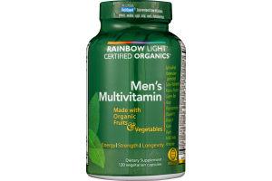Rainbow Light Men's Multivitamin Vegetarian Capsules - 120 CT