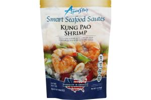 Aqua Star Smart Seafood Sautes Kung Pao Shrimp