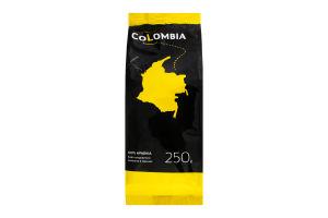 Кофе натуральный жареный в зернах Colombia Rio Magdalena Altura Gremio м/у 250г