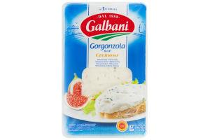 Сир 48% блакитний Gorgonzola Cremoso Galbani лоток 150г