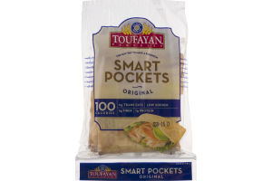 Toufayan Bakeries Smart Pockets Original - 6 CT