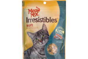 Meow Mix Irresistibles with Salmon Soft Treats