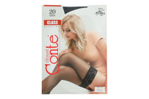 Панчохи жіночі Conte Class №8С-90СП 20den 3/4 nero