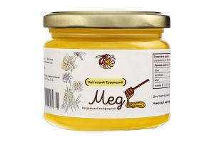 Мед натуральний квітковий травневий, вищого ґатунку.