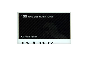 Гільзи для самокруток Dark Horse Carbon Fifter 100шт
