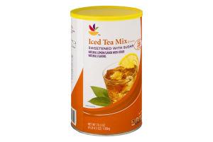 Ahold Lemon Flavor Iced Tea Drink Mix with Sugar
