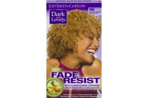 Dark And Lovely Fade Resist Rich Conditioning Lightener 384 Lt Golden Blonde
